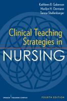 Clinical Teaching Strategies in Nursing  Fourth Edition PDF