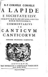 Commentarius In Canticum Canticorum