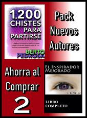 Pack Nuevos Autores Ahorra al Comprar 2: 1200 Chistes para partirse, de Berto Pedrosa & El Inspirador Mejorado, de J. K. Vélez