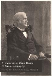 In memoriam: Elder Henry C. Blinn, 1824-1905