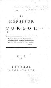 Vie de Monsieur Turgot