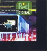 Red digital n   4  Revista de tecnolog  as de la informaci  n y comunicaci  n educativas  Televisi  n educativa  reto y utop  a PDF