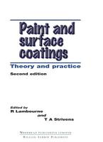 Paint and Surface Coatings PDF