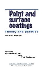 Paint and Surface Coatings: Theory and Practice, Edition 2