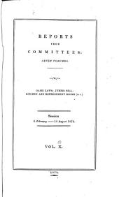 Parliamentary Papers, House of Commons and Command: Volume 10