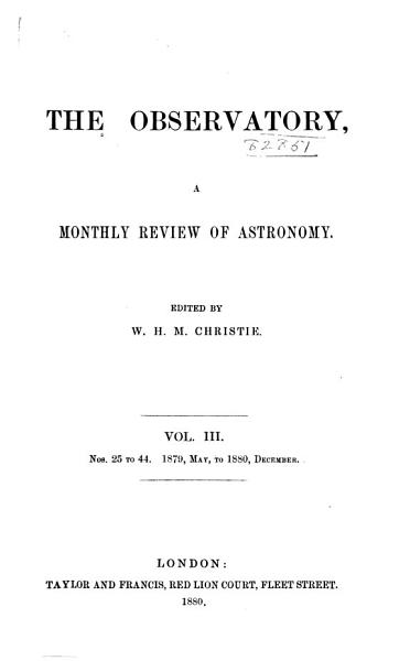 Download The Observatory Book