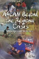 ASEAN Beyond the Regional Crisis PDF