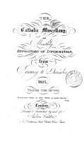 The Catholic miscellany and monthly repository of information PDF