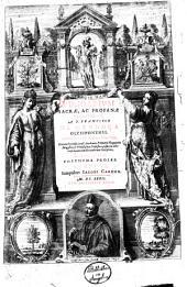 Viridarium sacræ, ac profanæ eruditionis, a P. Francisco de Mendoça Olysiponensi, Societate Iesu doctore theologo, ..