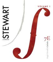 Single Variable Calculus: Volume 1, Edition 7