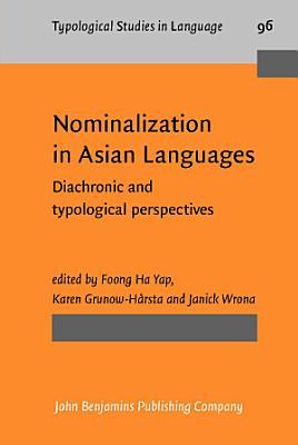 Nominalization in Asian Languages PDF