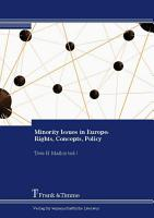 Minority Issues in Europe  Rights  Concepts  Policy PDF