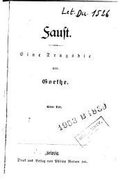 Faust: Eine Tragödie
