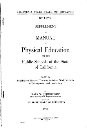 Syllabus on physical training activities with methods of management and leadership suppl PDF