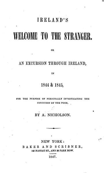 Download Ireland s Welcome to the Stranger Book