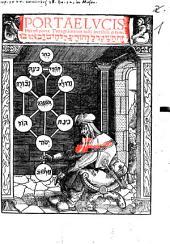 Portae Lvcis H[a]ec est porta Tetragra[m]maton iusti intrabu[n]t p[er] eam