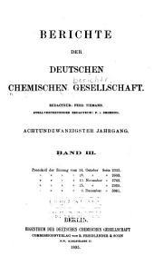 Berichte der Deutschen Chemischen Gesellschaft: Band 28,Ausgabe 3