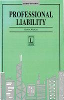 Professional Liability, Third Edition
