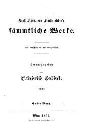 Ernst Frhrn. Von Feuchtersleben's sämmtliche Werke: Bd. Gedichte - 3 Bd. Lebensblätter