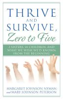 Thrive and Survive Zero to Five PDF