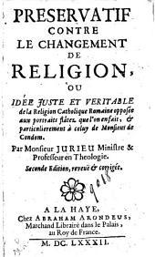 Perservatif contre Le Changement de Religion