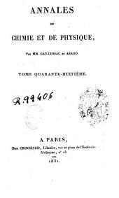 Annales de chimie et de physique: Volume48