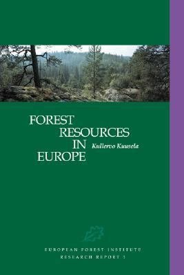 Forest Resources in Europe 1950 1990 PDF