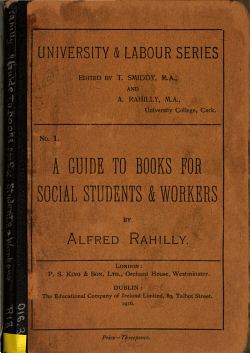 A Guide to Books for Social Students and Workers     PDF