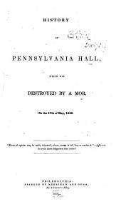History of Pennsylvania Hall