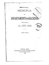 Memoria: Volumen 1