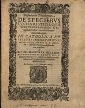 De speciebus eucharisticis