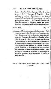 Histoire de la Guerre de L'indépendance Des Et́ats-Unis D'Ameŕique: Volume 4