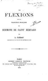 Les flexions dans la traduction française des sermons de saint Bernard