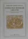 Antología sefaradí: 1492-1700. Respuesta literaria a la Expulsión de 1492