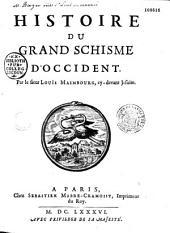 Histoire du grand schisme d'Occident
