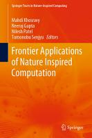 Frontier Applications of Nature Inspired Computation PDF