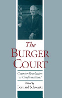The Burger Court PDF