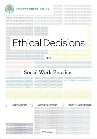 Brooks Cole Empowerment Series  Ethical Decisions for Social Work Practice PDF