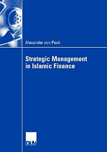 Strategic Management in Islamic Finance PDF