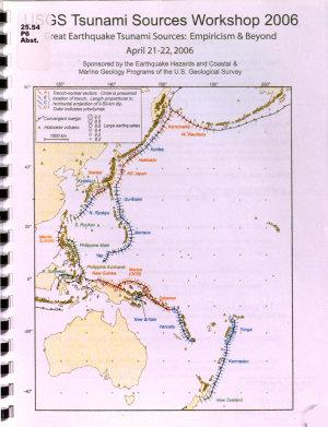 USGS Tsunami Sources Workshop 2006