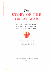The story of the great war: with complete historical record of events to date, Volume 6