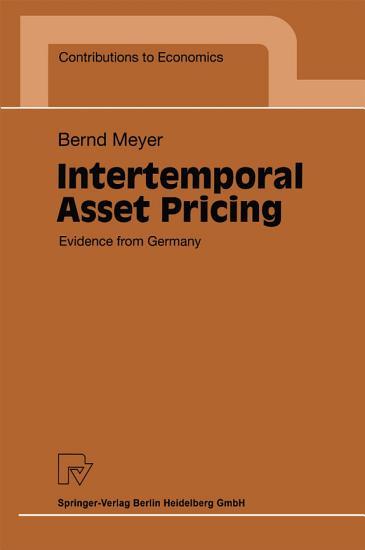 Intertemporal Asset Pricing PDF