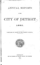 Annual Reports of the City of Detroit