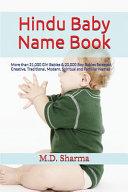 Hindu Baby Name Book PDF