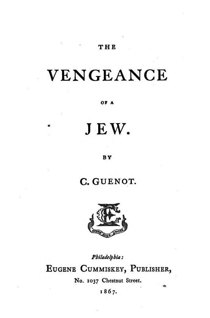 The Vengeance of a Jew