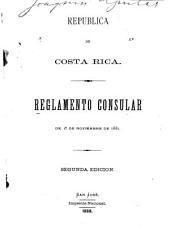 Reglamento consular de 1.0 de noviembre de 1881