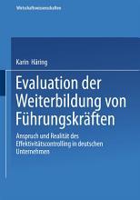 Evaluation der Weiterbildung von F  hrungskr  ften PDF