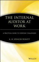 The Internal Auditor at Work PDF