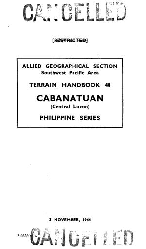 Terrain Handbook