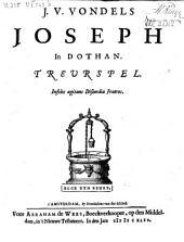 J. v. Vondels Joseph in Dothan. Treurspel